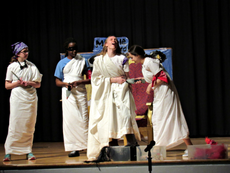 Beware The Ides of March: Latin Students Perform Julius Caesar Play