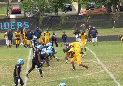 Raiders' Football Takes the Field
