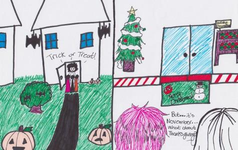 Political Cartoon: The American Holiday Season