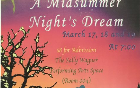 Promotional poster for A Midsummer Night's Dream.