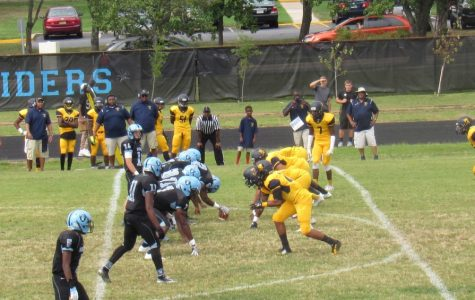 Raiders face off with the Riverdale Baptist Crusaders