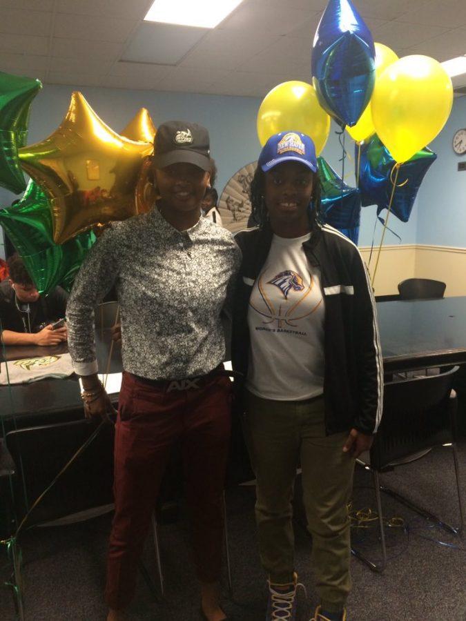 Alia Parker and Octavia Wilson Signing