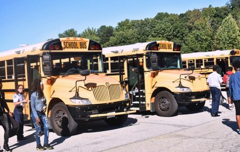 ERHS Buses Continue to Roll in Late