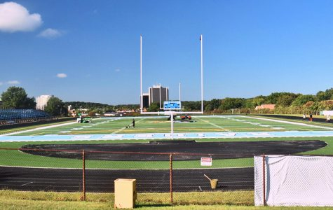 Athletes Take the Field on New Turf