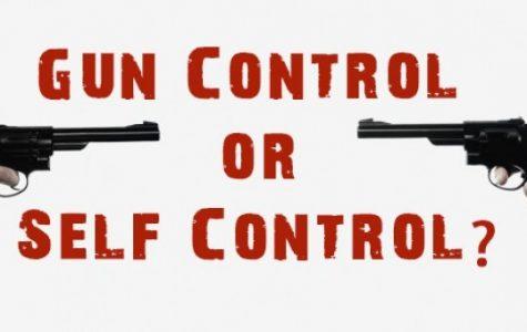 Staff and Students at ERHS Debate Gun Control