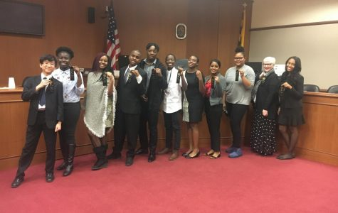 ERHS Mock Trial Team Beats Previously Undefeated Northern High School