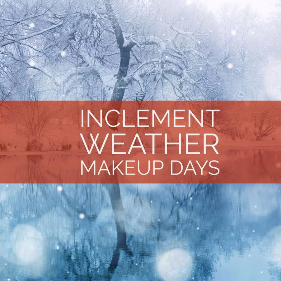 Schools Should not be Obligated to Make Up Inclement Weather Days