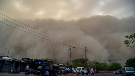 Deadly Dust Storms and Thundershowers in India