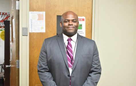 ERHS Welcomes Administrator Mr. James Thomas