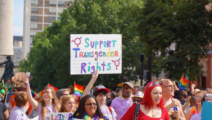 LGBTQ%2B+Rights+Supporters+marching+at+Baltimore+Pride