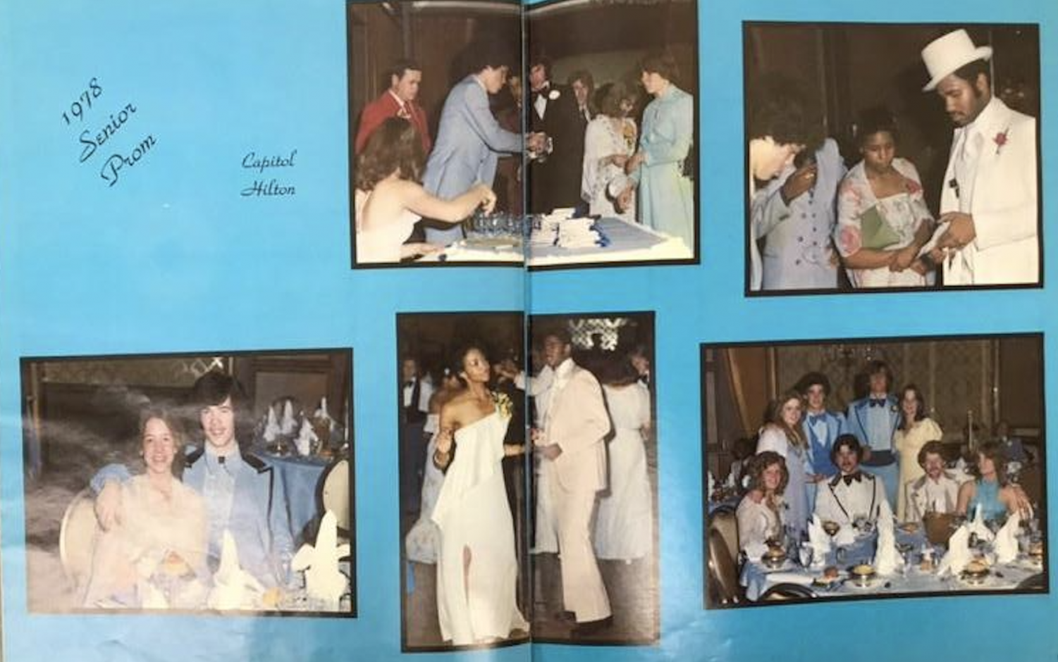 Prom Photos from the 1978 Eleanor Roosevelt Senior High School Yearbook