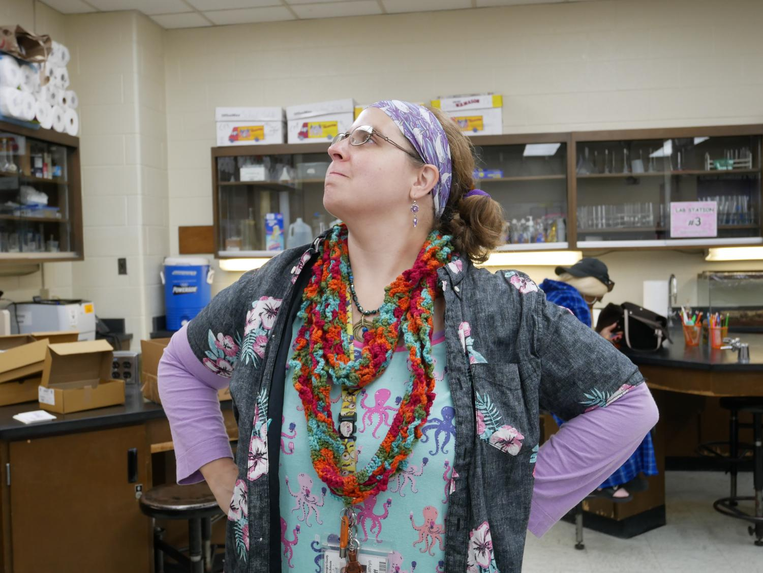 Ms. Komar's Crazy Day outfit.  Photographed by Rebekah Chun
