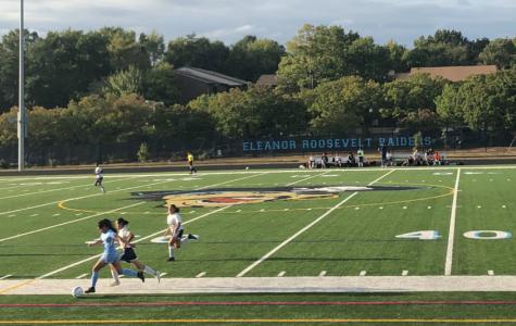 Raiders girl's soccer beat the Bulldogs 1-0 on Senior Day