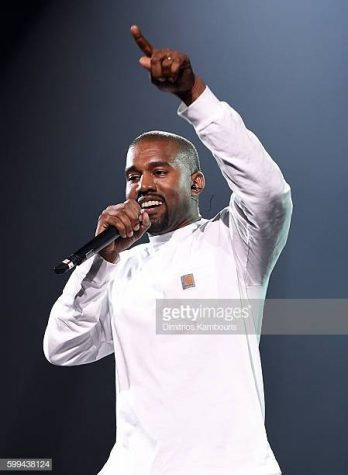 NEW YORK, NY - SEPTEMBER 04:  Kanye West performs during Puff Daddy and Bad Boy Family Reunion Tour at Madison Square Garden on September 4, 2016 in New York City.  (Photo by Dimitrios Kambouris/Getty Images for Live Nation)