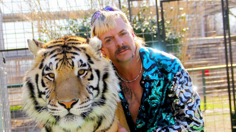 "Star of ""Tiger King"" Joe Exotic."