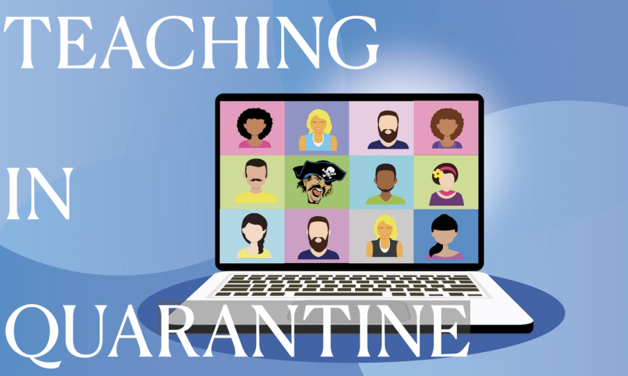 Teaching in Quarantine Offers Much Needed Free Time