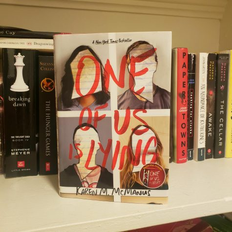 Cover of the novel One of Us is Lying by Karen McManus. Photo courtesy of Olivia Bryan