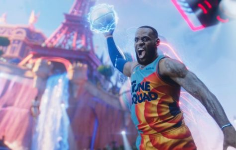 LeBron James in the trailer for Space Jam: A New Legacy. Credit: Warner Bros.